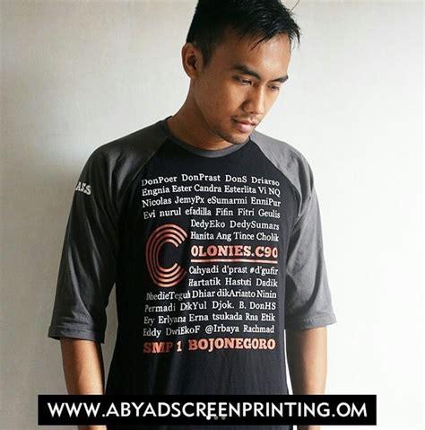 Kaos Awake Desain Premium Sablon Printing 5 warna kaos raglan yang paling laris di indonesia abyad apparel pro