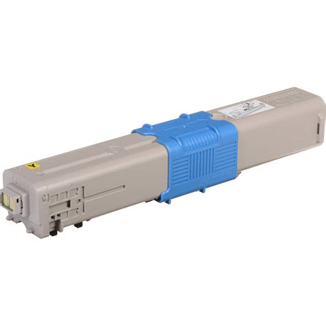 Oki Yellow Toner For C332 Mc363 Printer 1 oki 46508701 3k yellow toner cartridge 46508701 b h photo