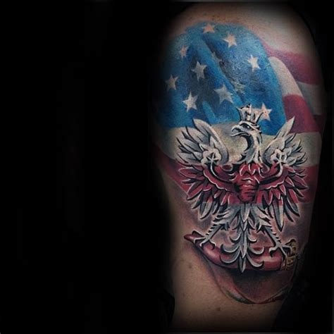 polish flag tattoo designs amazing eagle designs