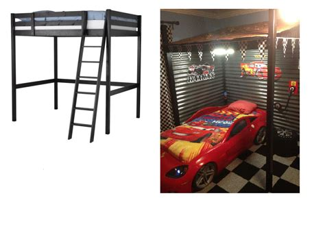 ikea garage hacks cool carport loft bed ikea hackers ikea hackers