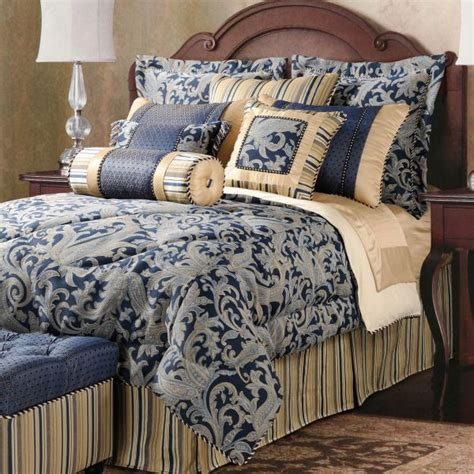 Blue And Gold Bedding Sets Navy Blue And Gold Bedroom Quotes