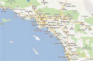 map of southern california towns atcheson s service areas