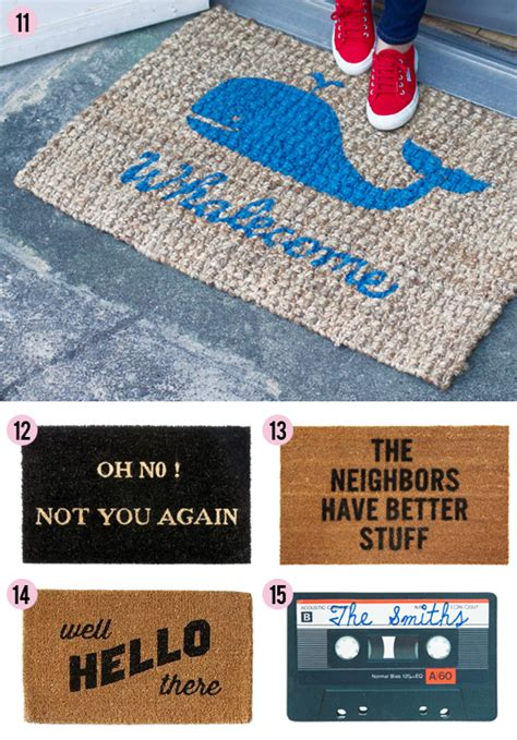 Clever Doormats by Knock Knock 15 Clever Doormats At Home In
