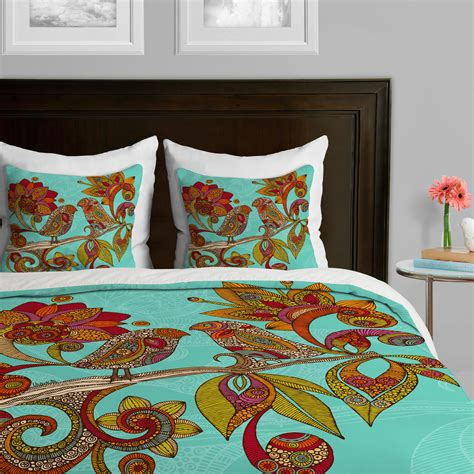 deny designs bedding amazon com deny designs valentina ramos hello birds