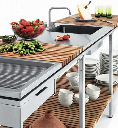 outdoor kitchen ideas d s furniture trend au 223 enk 252 che kochen unter freiem himmel