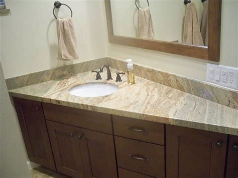 Bathroom Vanities And Countertops Black Granite Bathroom Vanity Countertop With Rectangle White Sink Loversiq