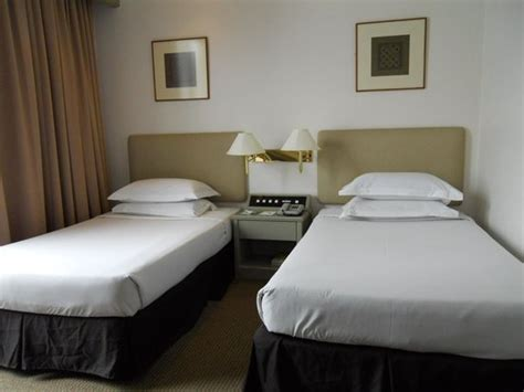 twin beds picture  federal hotel kuala lumpur