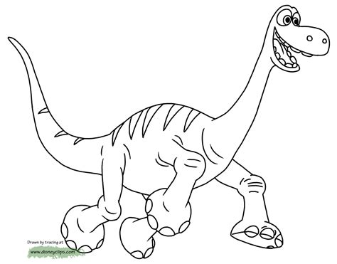 the good dinosaur coloring pages disney coloring book