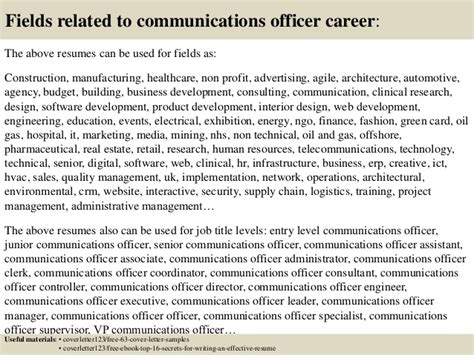 Communications Executive Cover Letter by Corporate Communications Officer Cover Letter Corporate Communications Manager Resume Cover