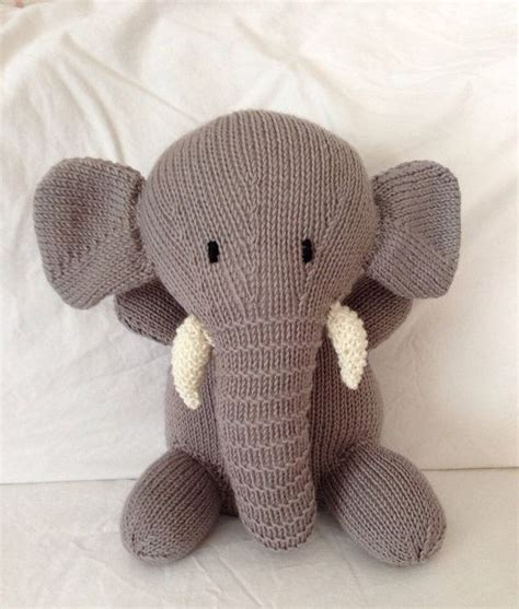 knit toys knitted soft plush stuffed cuddly