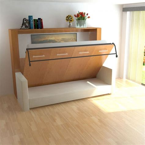 horizontal wall bed with sofa 25 best ideas about murphy bed on