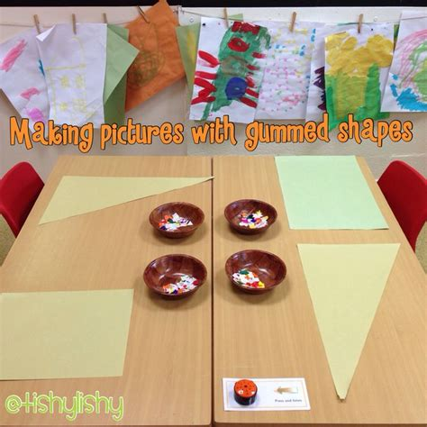 shape pattern activities early years 106 best maths shape space and measure eyfs images on