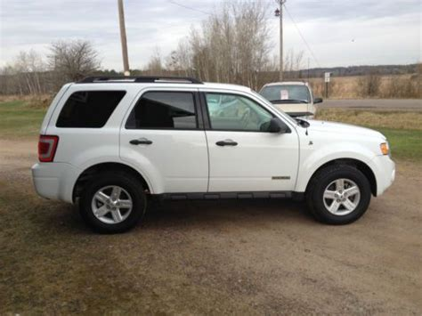 2008 ford escape mpg sell used 2008 ford escape hybrid xlt sport utility 4 door