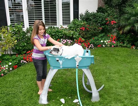 wash tubs for dogs booster bath elevated wash tub 187 gadget flow