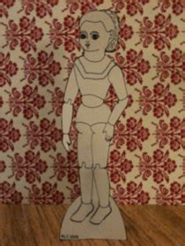 How To Make A Paper Doll Stand - how to make a stand for any of the paper dolls paper