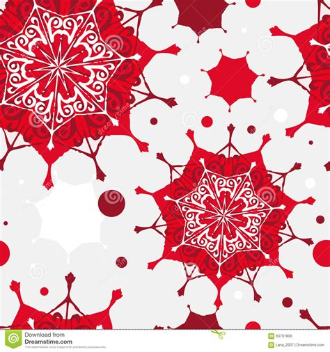 christmas pattern red and white seamless christmas pattern red and white snowflakes