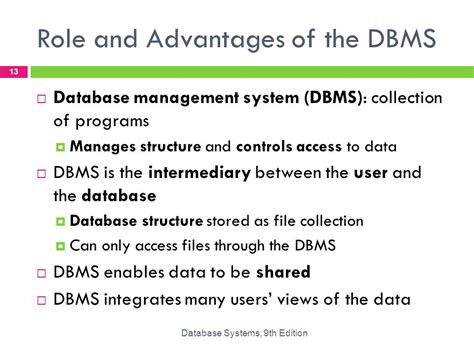 design management advantages database systems design implementation and management