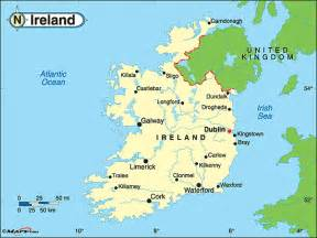 World Map Ireland by Ireland Political Map By Maps Com From Maps Com World S