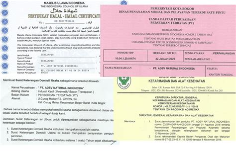 Sabun Temulawak Halal legalitas perusahaan perusahaan maklon kosmetik adev