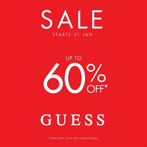 guess new year sale fashion clothing sale