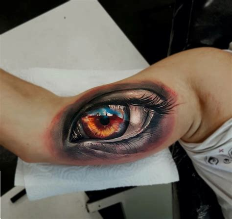 eyeball tattoo killer 3d realistic eyeball tattoos of the day