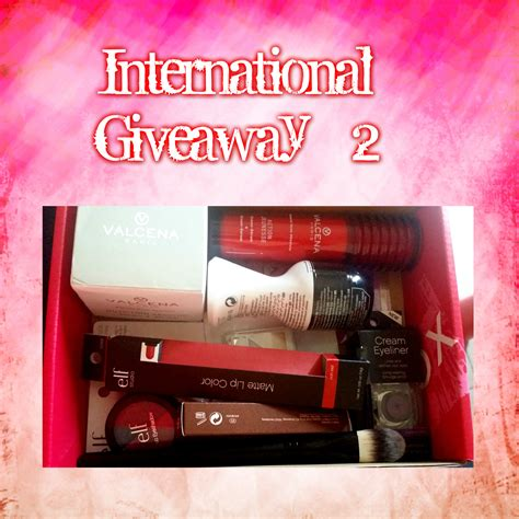 Giveaway International - international giveaway 2 veenazworld