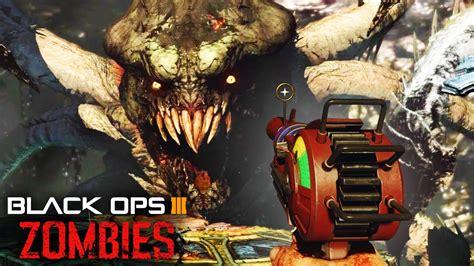 video monster black ops 3 zombies giant monster easter egg zombie