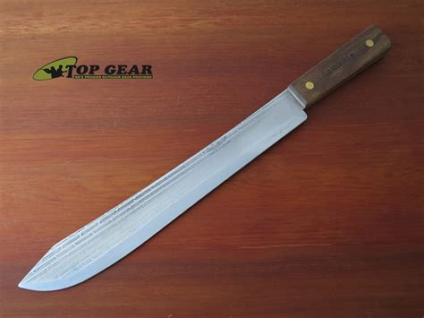 old hickory kitchen knives knife mule old hickory 14 quot butcher knife with wide tip 7113