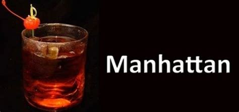 manhattan drink manhattan cocktail recipe dishmaps