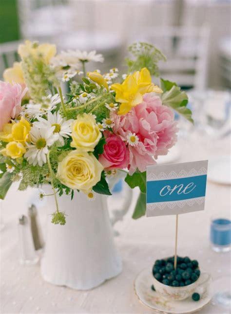 90 Beautiful Summer Wedding Centerpieces Happywedd Com Summer Table Centerpieces