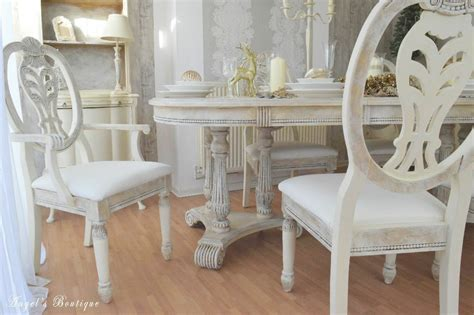 unique provence shabby chic dining table with