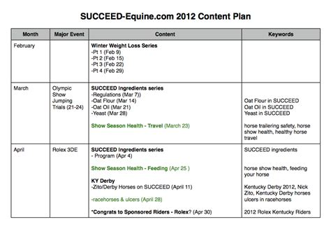 caign schedule template plan a year of content 100 images the social media