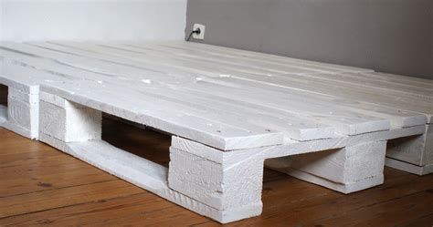 base de lit palette bois mzaol