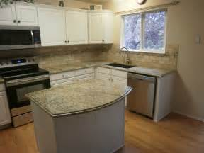 Kitchen Backsplash Ideas With Santa Cecilia Granite Integrity Installations A Division Of Front Range Backsplash Santa Cecilia