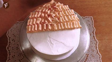 youtube de bolos decorados bolos decorados em 1 minuto chantilly laranja morangos