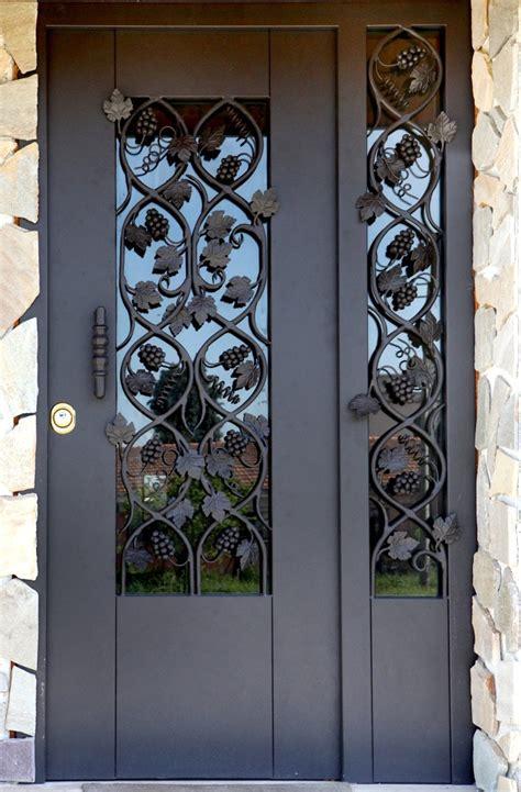 porte in ferro per esterni porte in ferro battuto per esterni