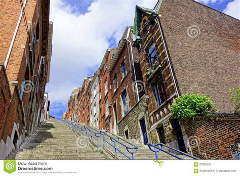 liege stairs liege stairs stock photo image 62095555
