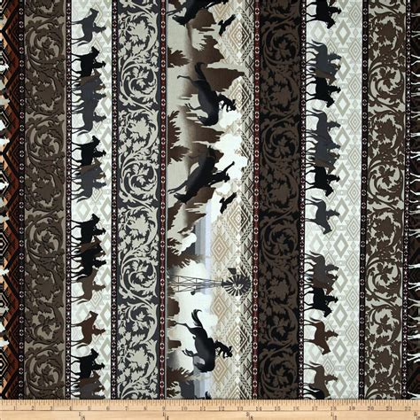 Western Fabric For Curtains Western Flair Discount Designer Fabric Fabric