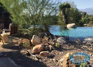 Patio Landscape Design Ideas California Desert Style Pool Built By Splash Pools And