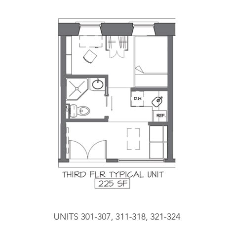 Micro Apartments Floor Plans | micro apartments being built inside indoor mall