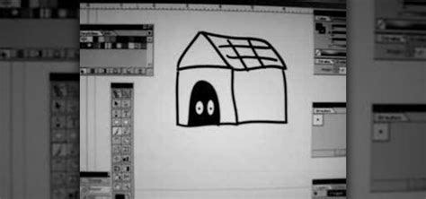 draw house illustrator how to draw a dog house in illustrator 171 adobe illustrator