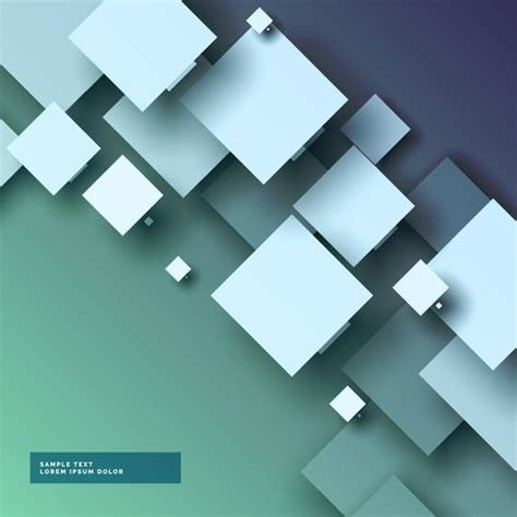 stylish  abstract background  squares