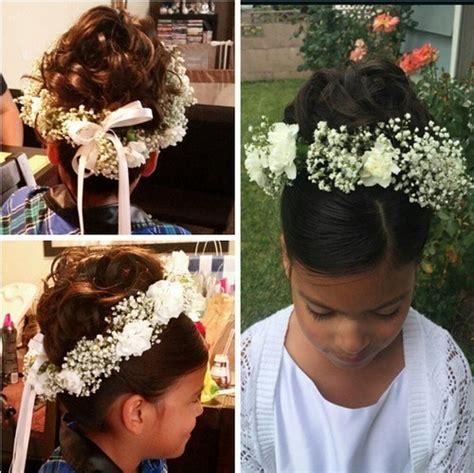 black flower girls hairstyles for weddings 25 cutest flower girl hairstyles for dreamy look