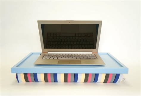 Laptop Pillows by Laptop Desk Or Breakfast Serving Tray Light Blue