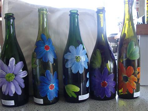 painting glass christine flannery glass painting glass painting bottles