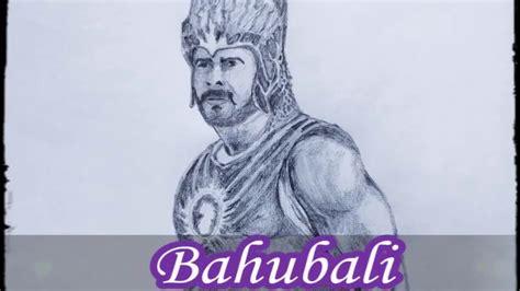 Bahubali 1 Sketches by Bahubali 2 Prabhas Speed Drawing