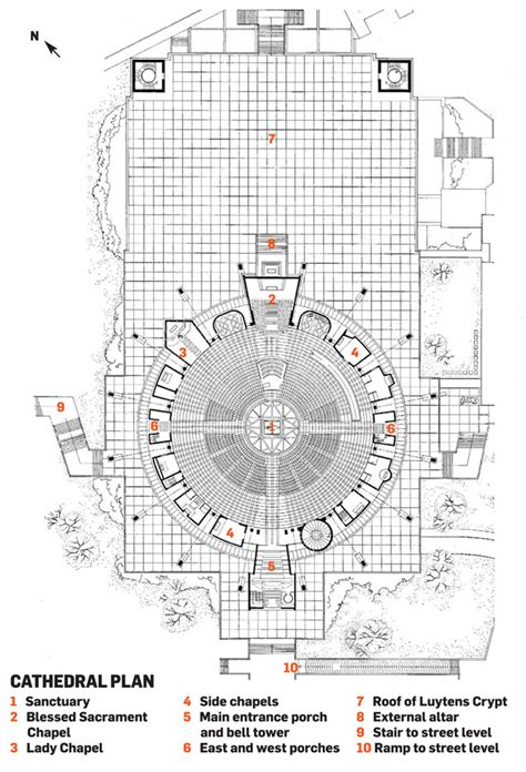 cathedral floor plan paul monaghan s inspiration metropolitan cathedral of the king liverpool building