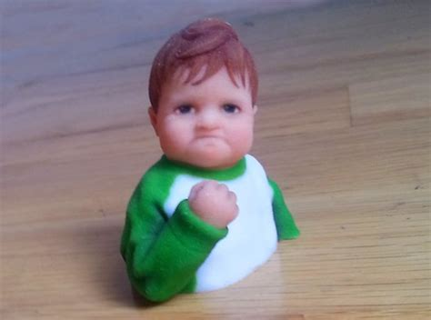 Baby With Fist Meme - blog 3d printers give memes a new dimension tct magazine