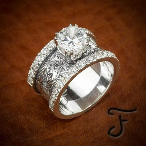 fanning jewelry wedding rings engagement rings fit for a cowgirl cowgirl magazine