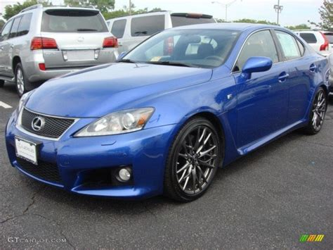 blue lexus lexus is f ultrasonic blue mica